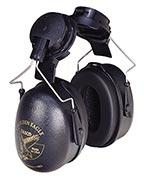 Tasco Black Golden Eagle Cap-Mounted Earmuff
